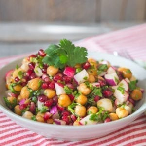 Chaat Salad, recipe from Made In India, at TasteOfThePlace.com