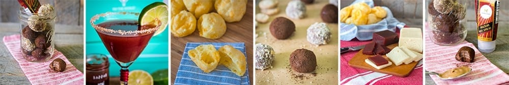 A selection of tasty treats I've created from my Try The World boxes!