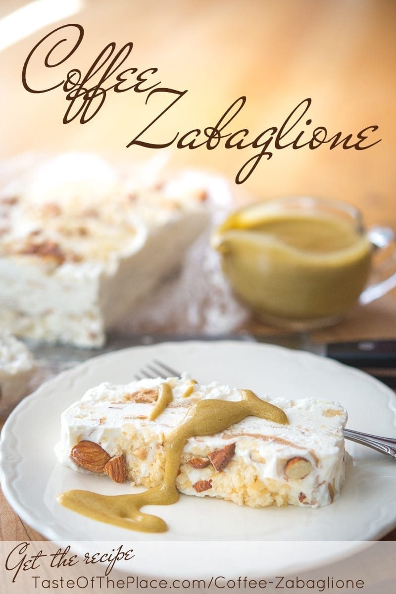 Coffee Zabaglione at TasteOfThePlace.com