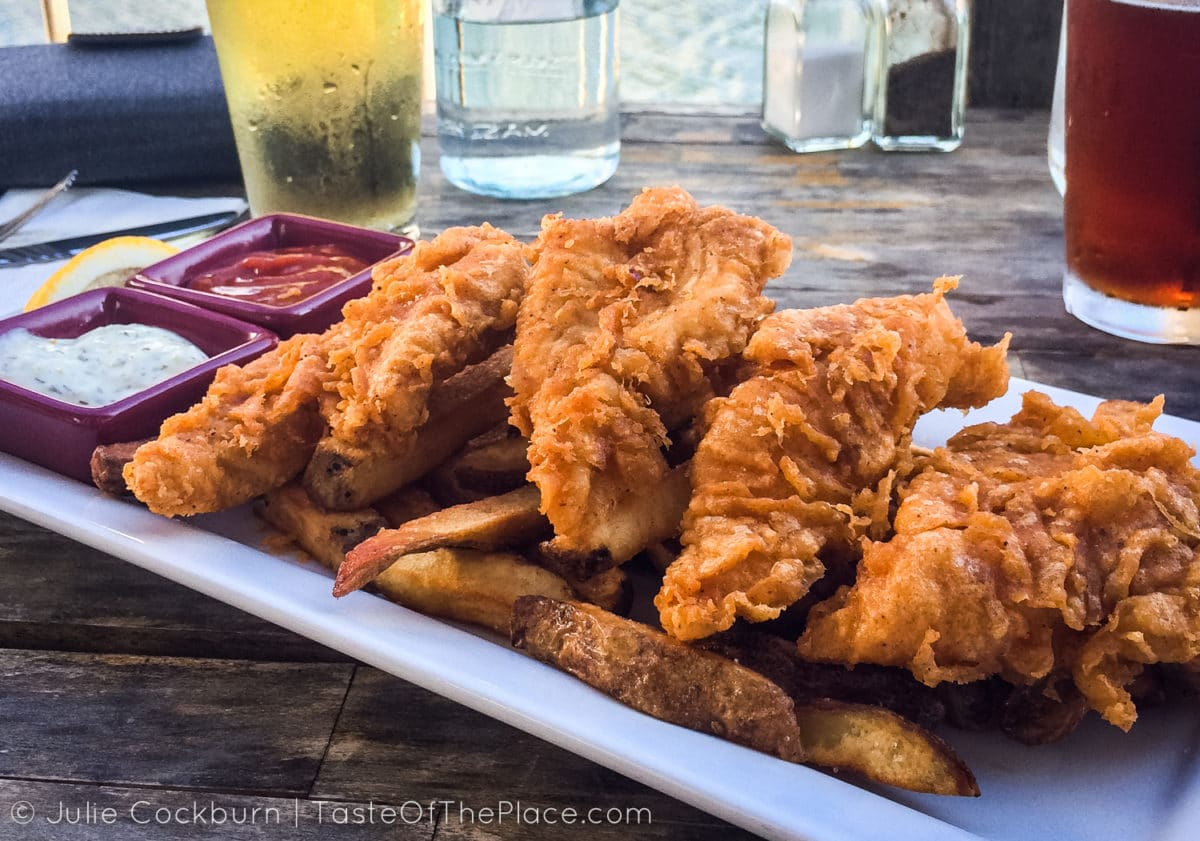 Fish and chips from TasteOfThePlace.com