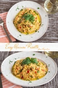 Easy Quinoa Risotto from TasteOfThePlace.com