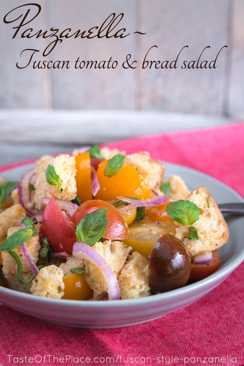 Panzanella at TasteOfThePlace.com