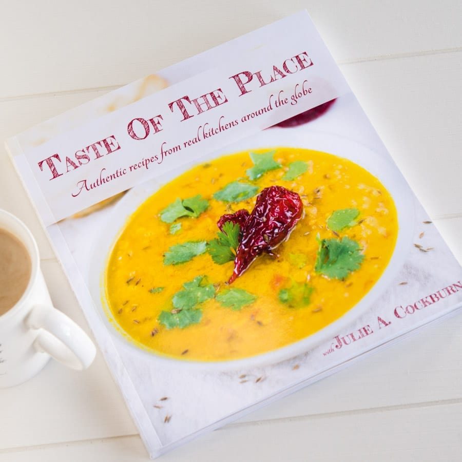 Taste Of The Place cookbook