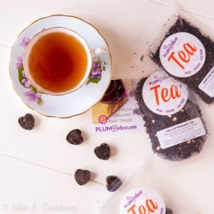 Plum Deluxe teas are a lovely choice for celebrating Mother's Day | TasteOfThePlace.com